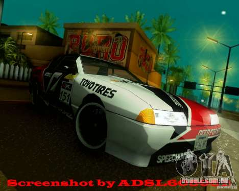 Need for Speed Elegy para GTA San Andreas vista direita