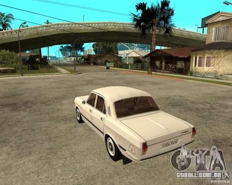 Volga Gaz 24-10-051 para GTA San Andreas esquerda vista