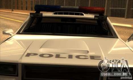Police Hero v2.1 para GTA San Andreas traseira esquerda vista