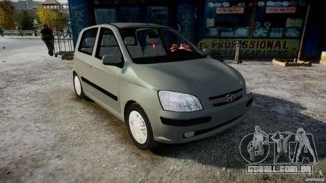 Hyundai Getz 2005 para GTA 4 vista direita