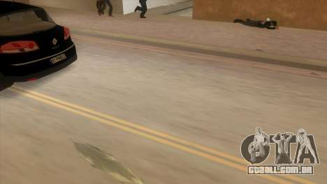 Renault Vel Satis para GTA Vice City vista traseira