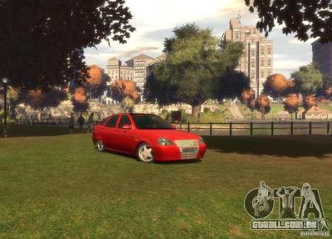 Hatchback de LADA priora para GTA 4