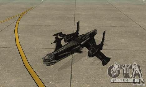 Hydra TimeShift Skin 2 para GTA San Andreas esquerda vista
