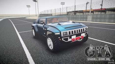 Hummer HX para GTA 4 vista de volta