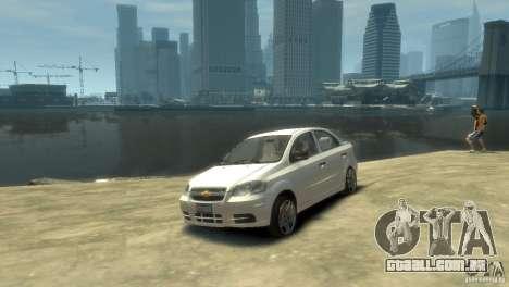 Chevrolet Aveo 2007 para GTA 4 esquerda vista
