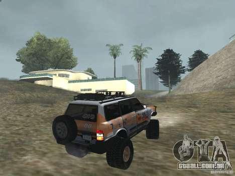 Tornalo 2209SX 4x4 para GTA San Andreas esquerda vista