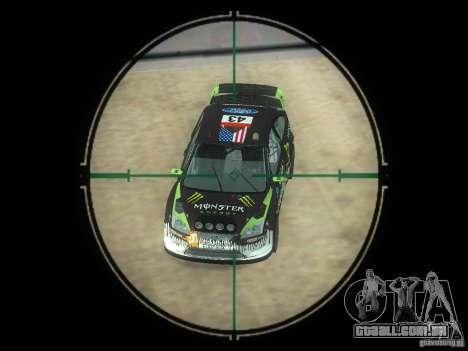 Rifle VSS Vintorez para GTA San Andreas quinto tela