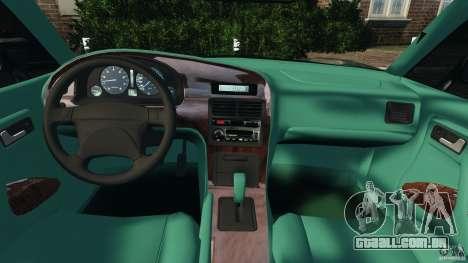 Daewoo Bucrane Concept 1995 para GTA 4 vista de volta