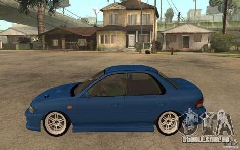 Subaru Impreza GC8 JDM SPEC para GTA San Andreas