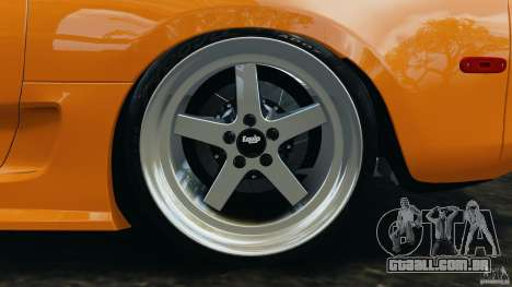 Toyota Supra Tuning para GTA 4 vista inferior