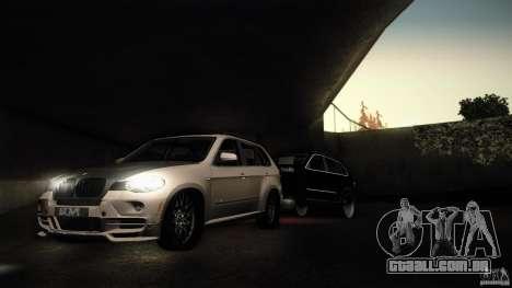 BMW X5 with Wagon BEAM Tuning para GTA San Andreas esquerda vista