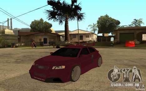 Audi A3 Tuned para GTA San Andreas