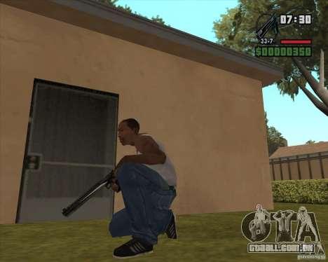 Black Chrome Eagle para GTA San Andreas