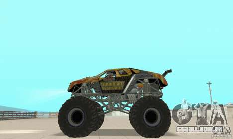 Monster Truck Maximum Destruction para GTA San Andreas vista direita