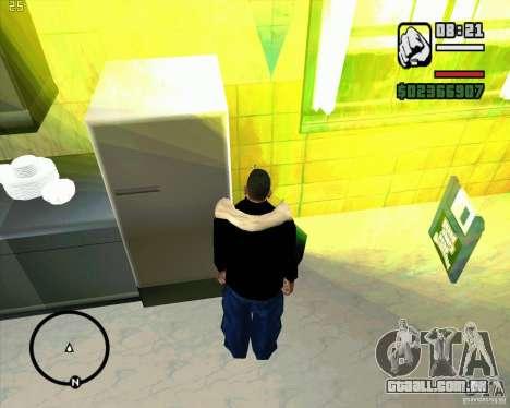 Faz um lixo para GTA San Andreas terceira tela