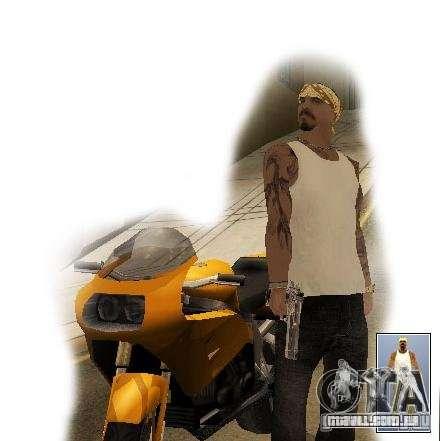 Gangue de vagos para ruas do Crime para GTA San Andreas terceira tela