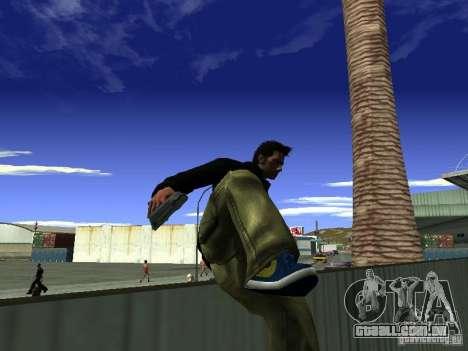 Claude HD Remake (Beta) para GTA San Andreas quinto tela