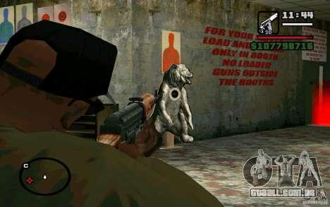 Dragunov sniper rifle v 2.0 para GTA San Andreas por diante tela