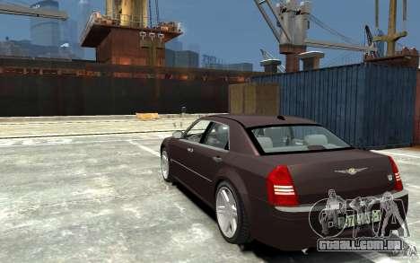 Chrysler 300C para GTA 4 traseira esquerda vista