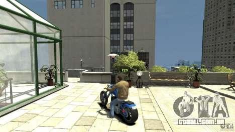 The Lost and Damned Bikes Hexer para GTA 4 traseira esquerda vista