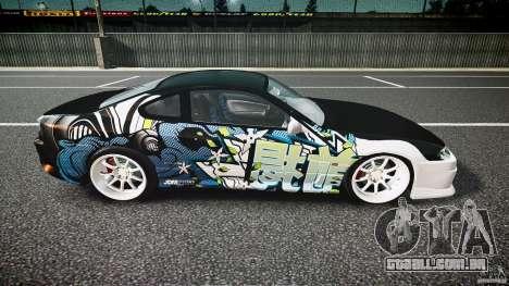 Nissan Silvia S15 Drift v1.1 para GTA 4 vista lateral