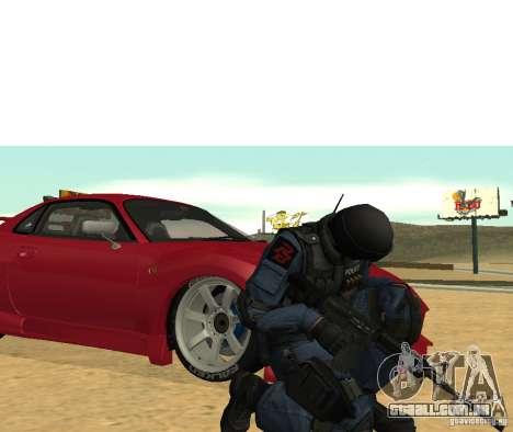 M4 para GTA San Andreas terceira tela