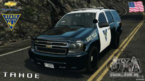 Chevrolet Tahoe Marked Unit [ELS] para GTA 4
