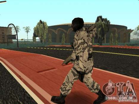 Vingador do Ártico para GTA San Andreas segunda tela
