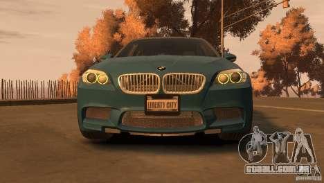 BMW 535i M-Sports para GTA 4 traseira esquerda vista