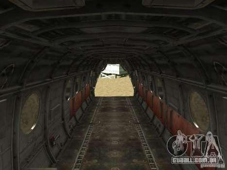 Leviatã de helicóptero para GTA San Andreas vista direita