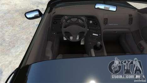 Toyota Supra RZ 1998 v 2.0 para GTA 4 vista direita