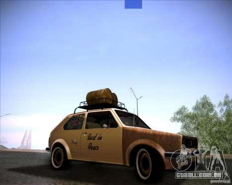 Volkswagen Golf MK1 rat style para GTA San Andreas