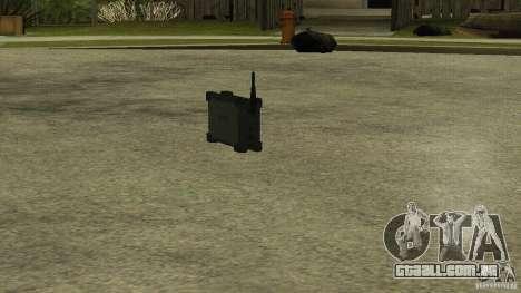 Flash do CoD MW2 para GTA San Andreas segunda tela