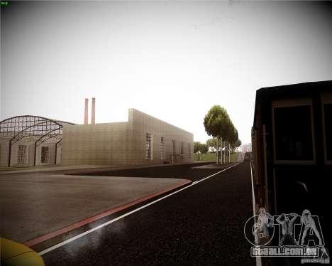 Uma coleção de mods de gráficos para GTA San Andreas quinto tela