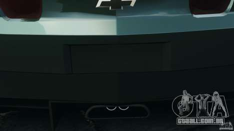 Chevrolet Camaro SS EmreAKIN Edition para GTA 4 vista lateral