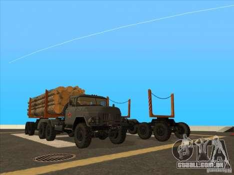 TMZ-802a para GTA San Andreas vista direita