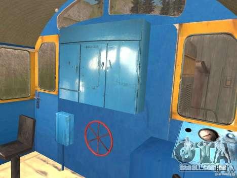 Tem2 para GTA San Andreas vista interior