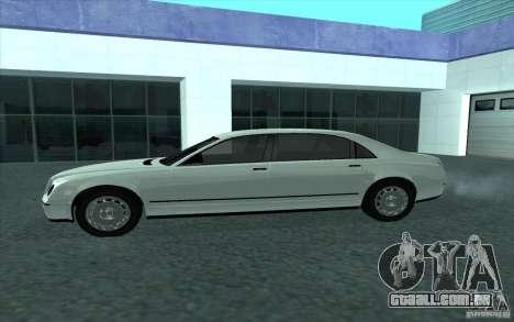 Cognoscneti do GTA 4 para GTA San Andreas esquerda vista