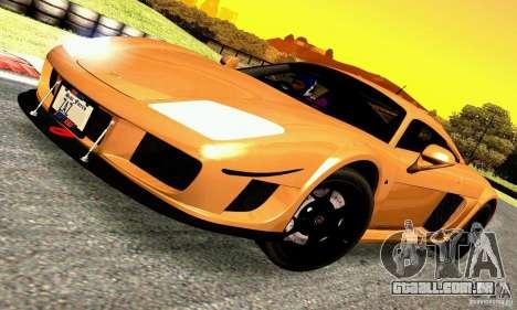Noble M600 para GTA San Andreas traseira esquerda vista