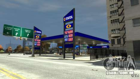 Statoil Petrol Station para GTA 4 segundo screenshot