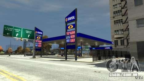 Statoil Petrol Station para GTA 4 segundo screenshot