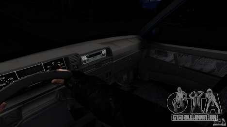 VAZ 2109 Drift Turbo para GTA 4 vista de volta