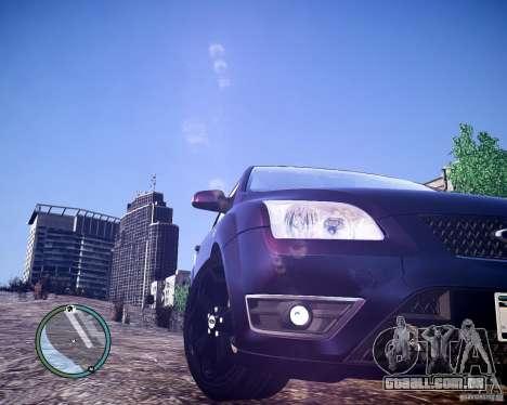 Ford Focus ST 2006 v1.1 para GTA 4 traseira esquerda vista