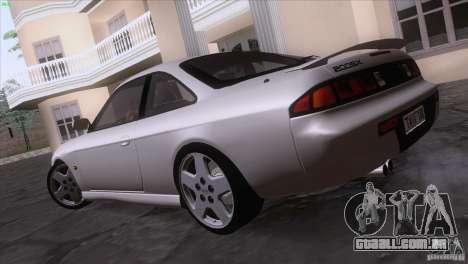 Nissan Silvia S14 Kouki para GTA San Andreas vista traseira