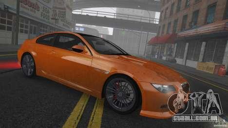 BMW M6 Hurricane RR para GTA 4 vista lateral
