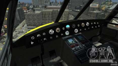 Yellow Annihilator para GTA 4 esquerda vista