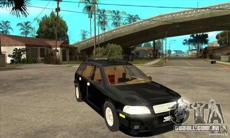 Volvo V40 Touring para GTA San Andreas vista traseira
