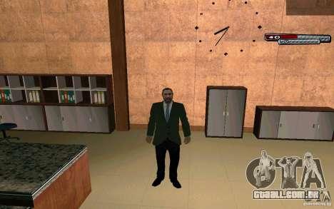 Mayor HD para GTA San Andreas por diante tela