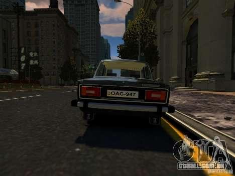 VAZ 2106 para GTA 4 vista direita