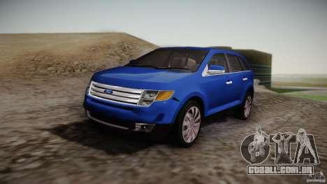 Ford Edge 2010 para GTA San Andreas